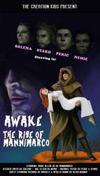 Awake: The Rise of Mannimarco B-Movie poster by aluckymuse