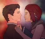 Naddia and Alaric by aluckymuse