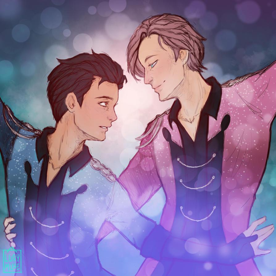 Fanart: Yuri On Ice by aluckymuse