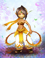 Chakram Dancer Low Res by Ikos-Karimlan