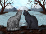 Crowpaw and Feathertail
