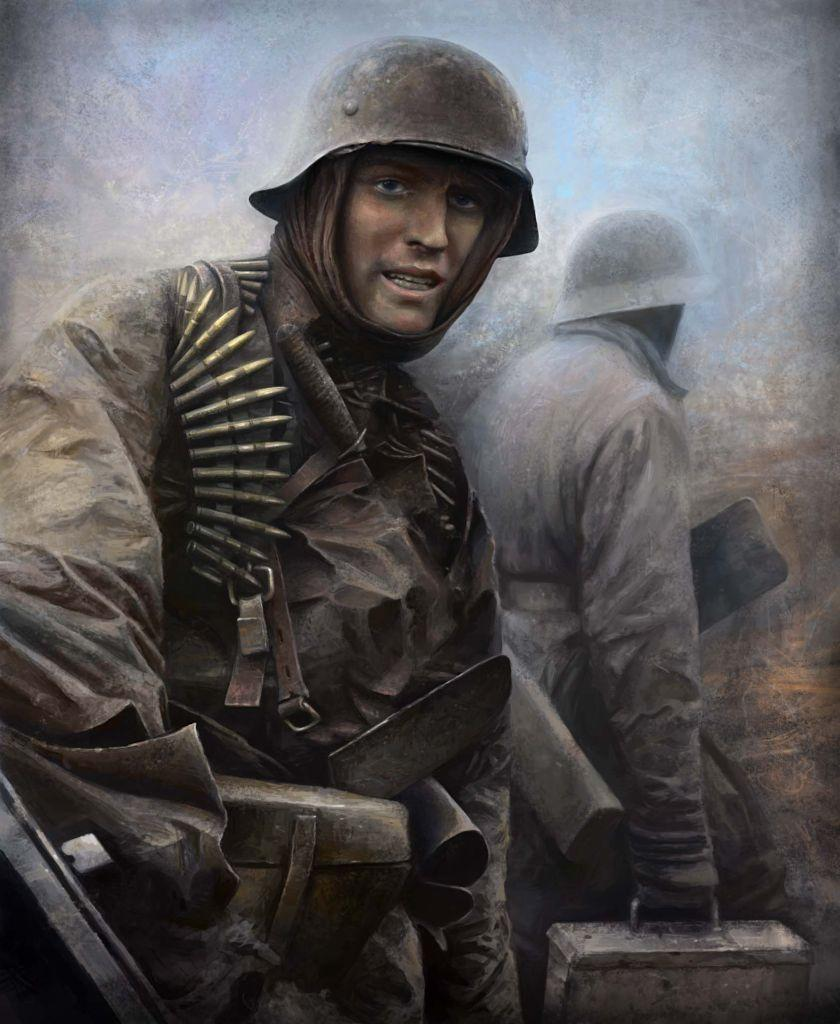 Waffen SS Soldier By VaipaBG
