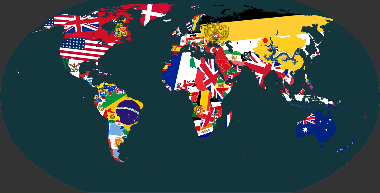 TheWorld Flag'd:1914 by vaipaBG