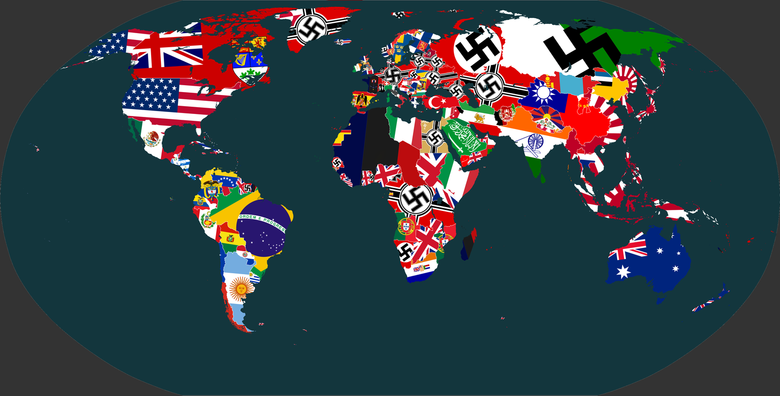 TheWorld Flag'd:Victorius Axis by vaipaBG