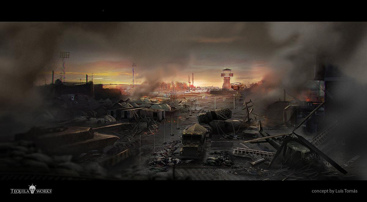 Militar environment Deadlight by LuisTomas