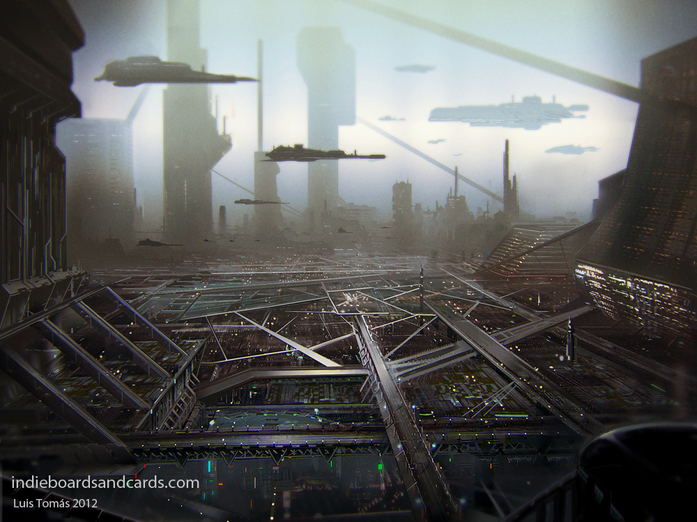 future city by LuisTomas