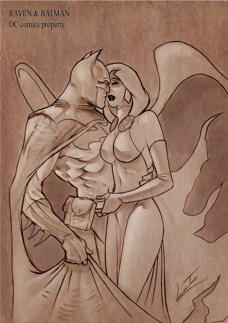 RavenBatman by LuisTomas