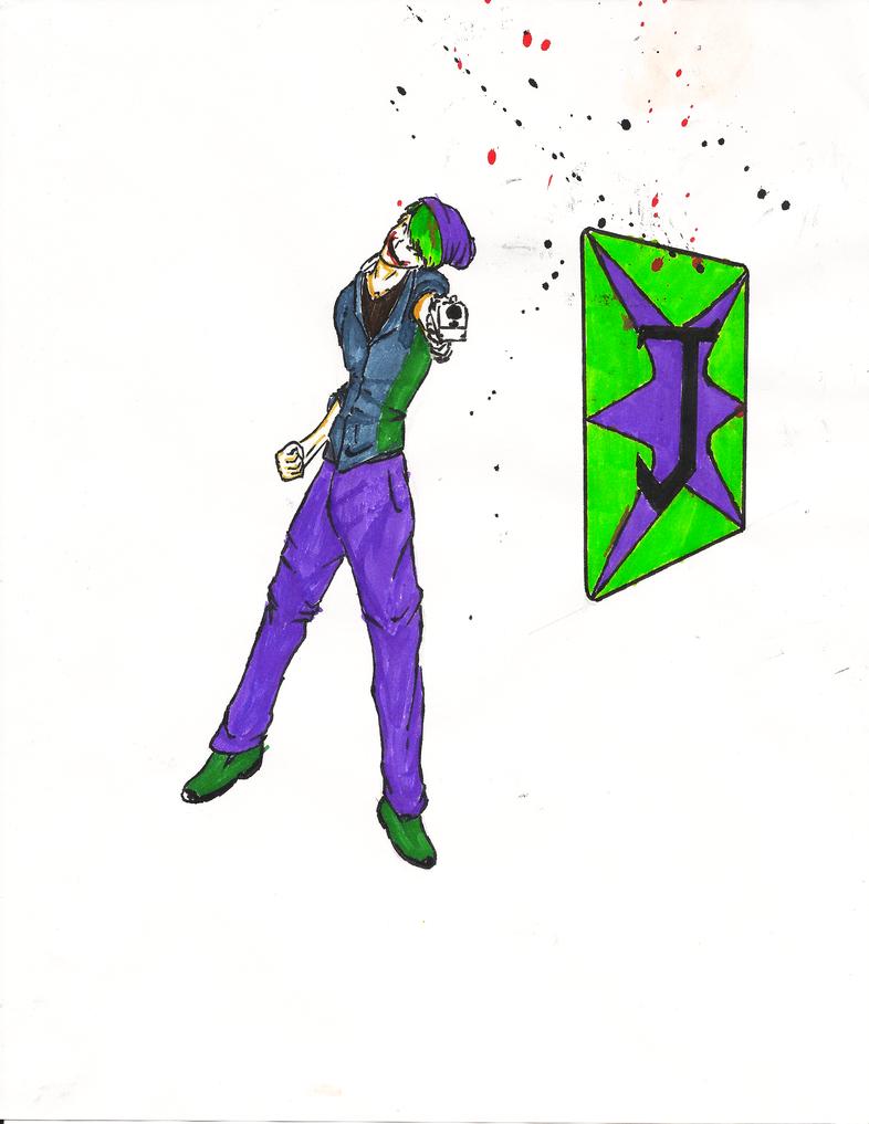 Joker 001 by lilwarrior103