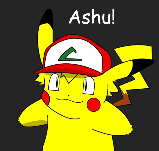 Ash Turns Into A Pikachu by MegaRa10