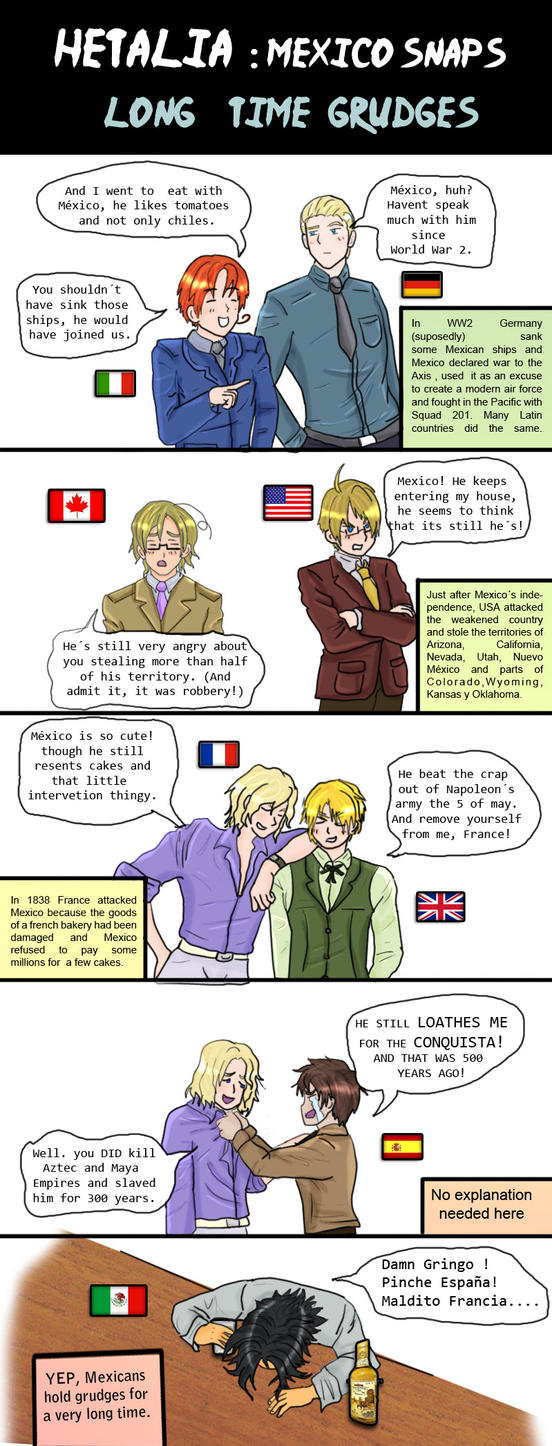 Hetalia Long time grudges by chaos-dark-lord