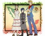 Hetalia Mexico sisters color