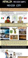 Hetalia Mexico city is a hell