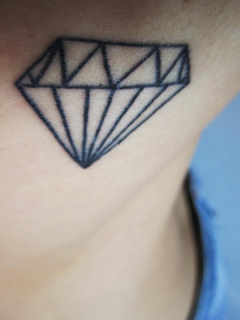 Фото тату алмазы для девушек