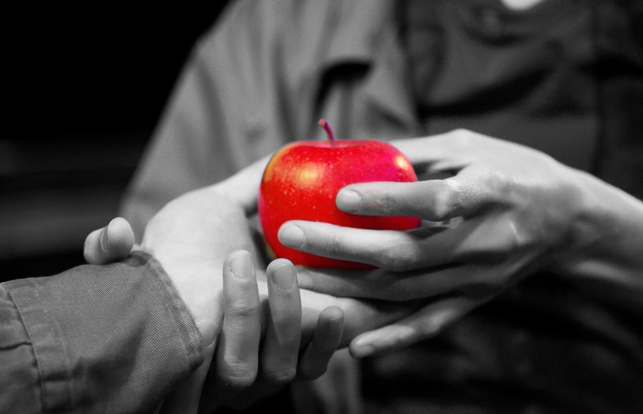 search bing images contrast bing hands apple contrast image contrast ...: https://www.pinterest.com/pin/536280268101188658