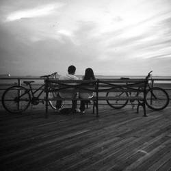 boardwalk rendezvous by toy-camera