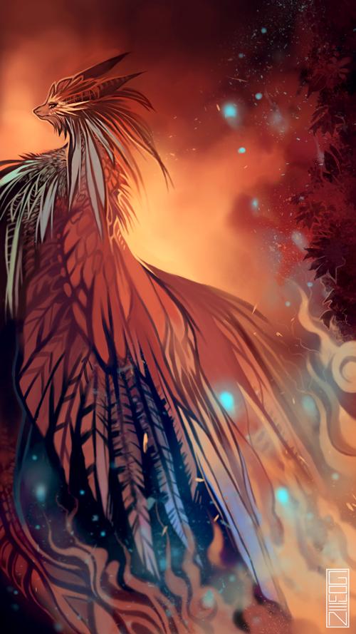 Fire dragon by xyGowenxy