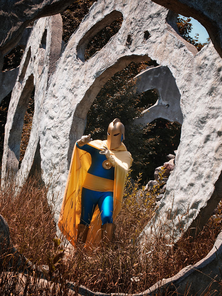 Golden Age - Dr. Fate Cosplay by Msabrehaven