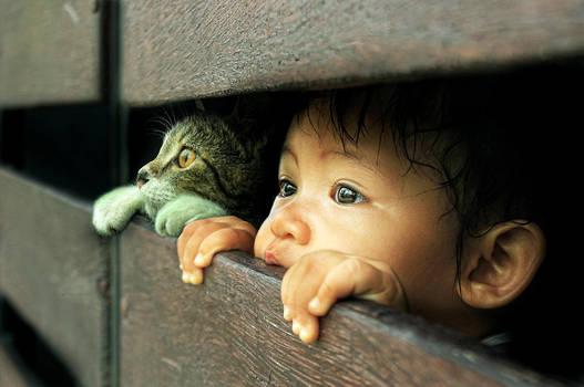 Children,Cat