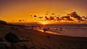 Ocean sunset shore 133240 1920x1080