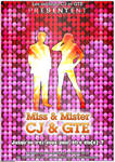 Miss and Mister CJ GTE flyer