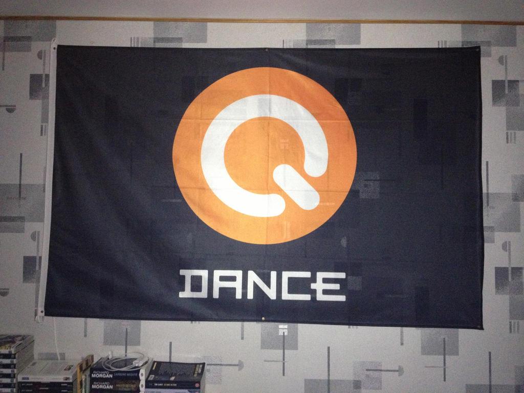 My Q-Dance flag by Epoc22