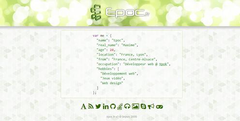 Epoc.fr : V3 by Epoc22