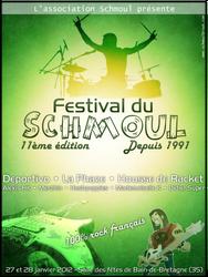Shmoul festival flyer