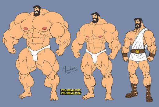 SketchOCT2019 Hercules
