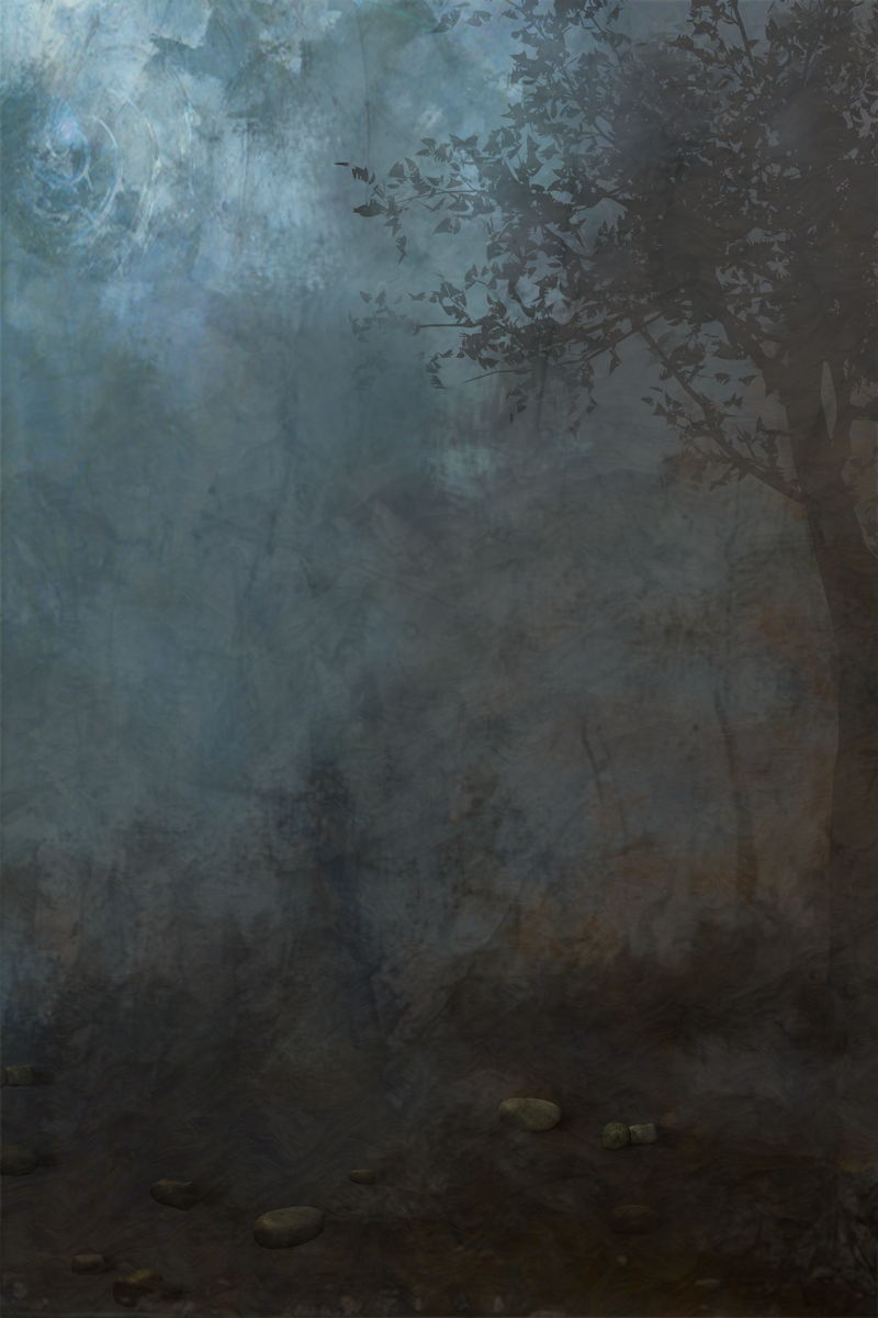 Woodland Background Texture by Alegion-stock