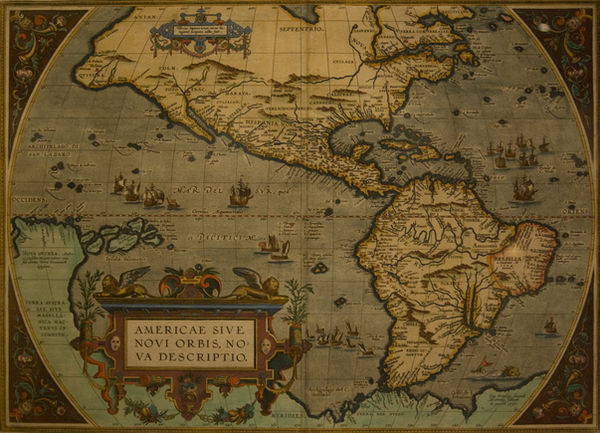 old map by Alegion-stock