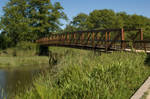 Fort Clatsop trail bridge