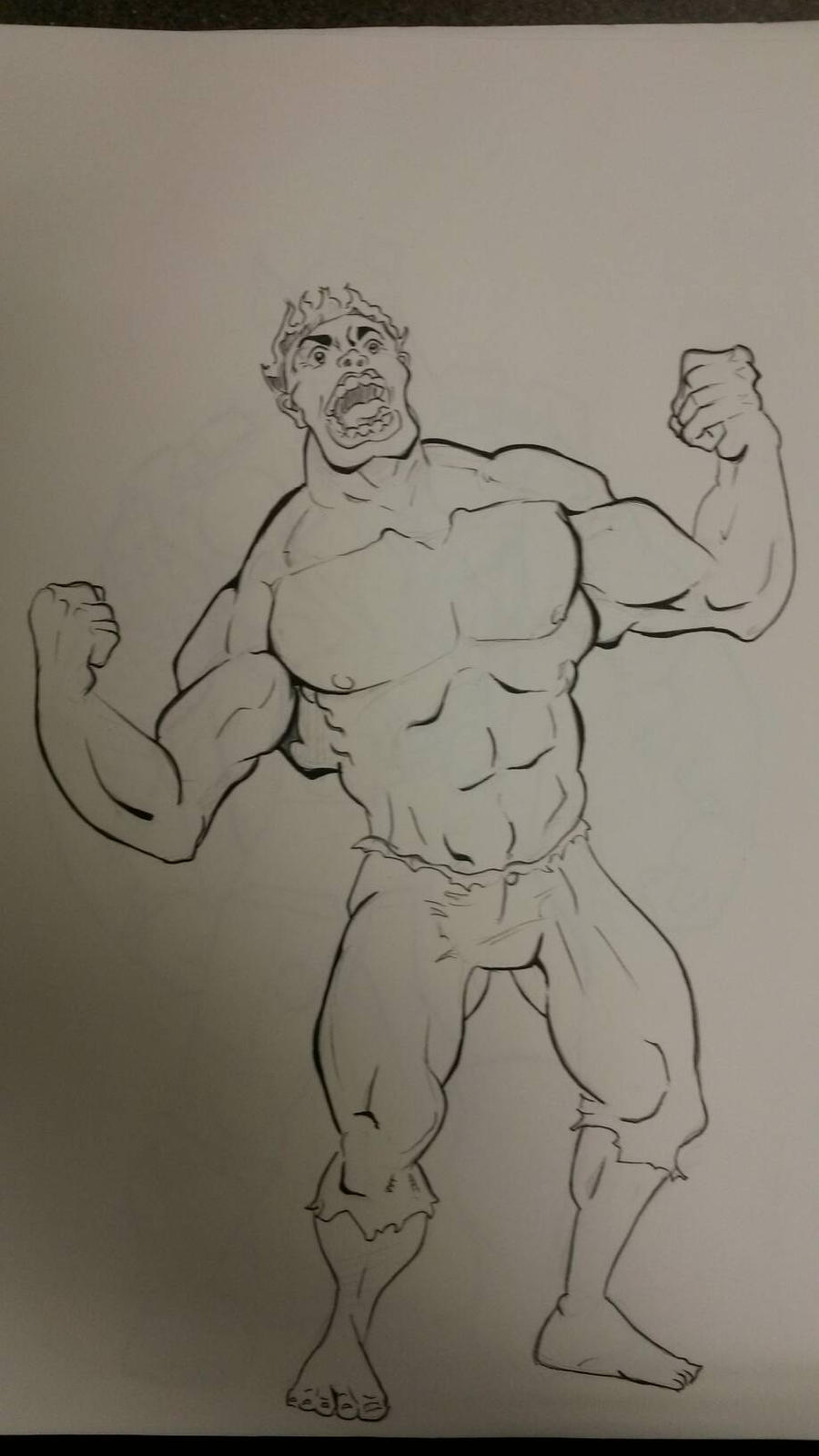 Hulk by FarosGFX