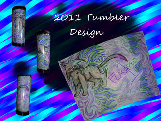 Flash Tumbler Design 2011 by Flashpelt1