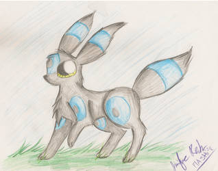 shiny umbreon by Flashpelt1