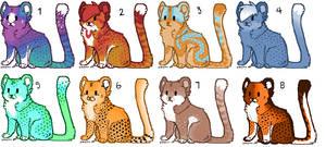 More cheetah Adopts! (OPEN)