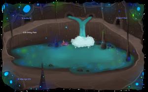 tUC: The Underground Lake by Flashpelt1
