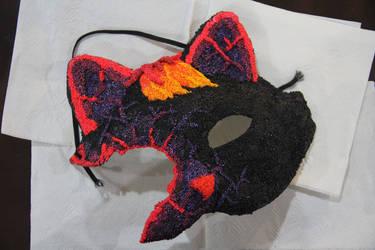 Burning mask Thing