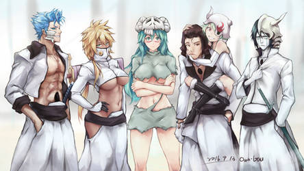 Bleach-Memorial drawing by lancer0519