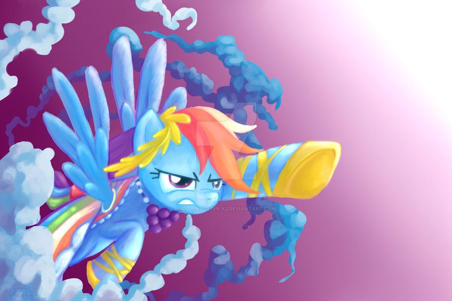 Rainbow Dash by littlebuster-k2
