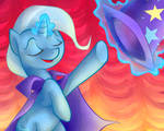April- The Great and Powerful Trixie by littlebuster-k2