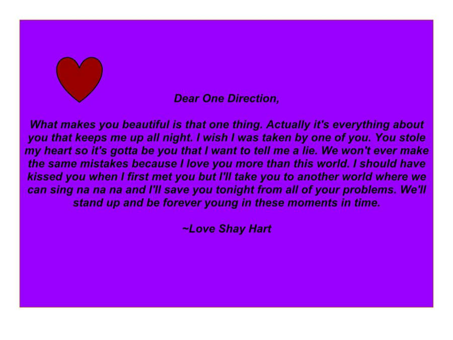 Dear One Diredtion by ShayHart