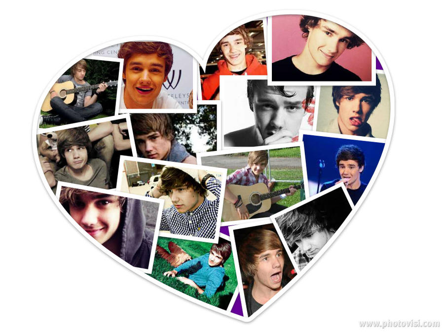 Liam Payne collage by ShayHart on DeviantArt