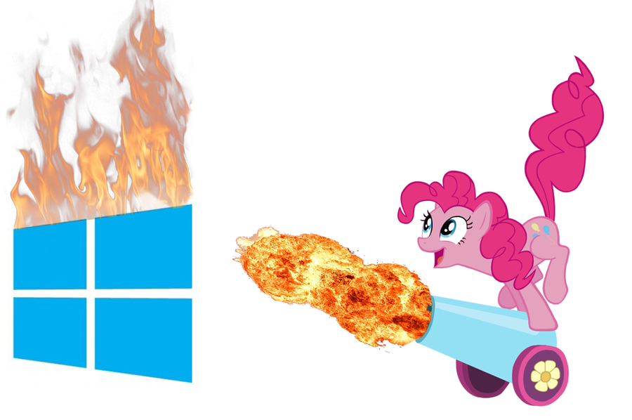Pinkie Pie Windows 8 By PinkiePizzles