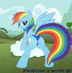 Weather Mare Rainbow Dash