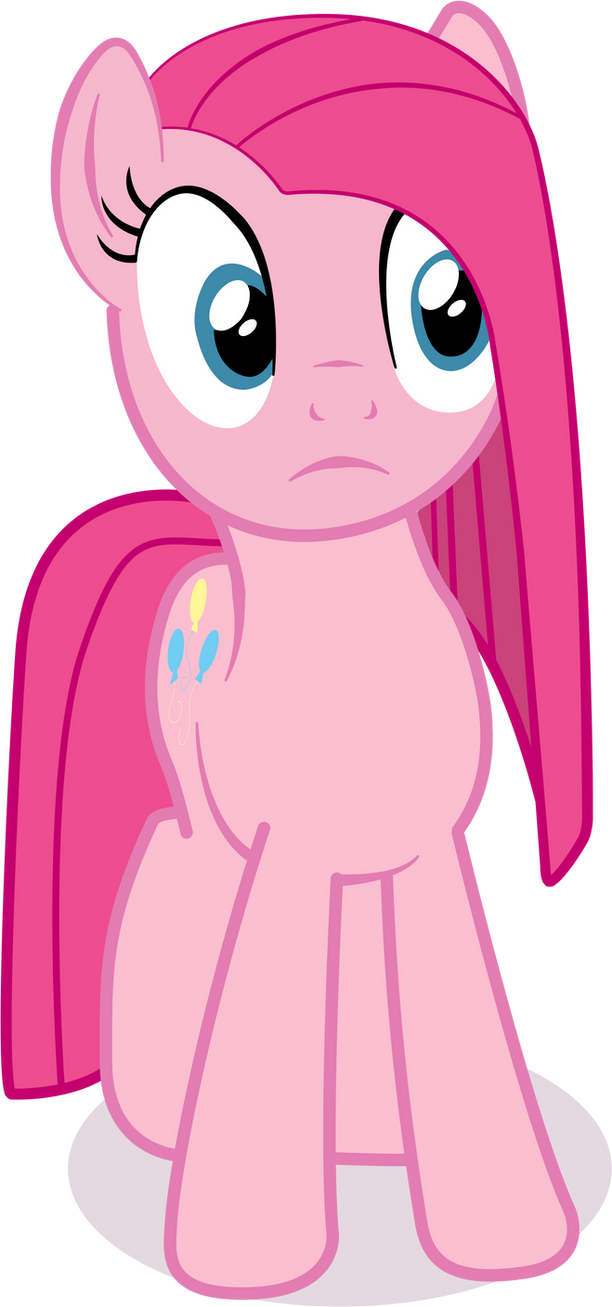 Pinkamena Vector by PinkiePizzles