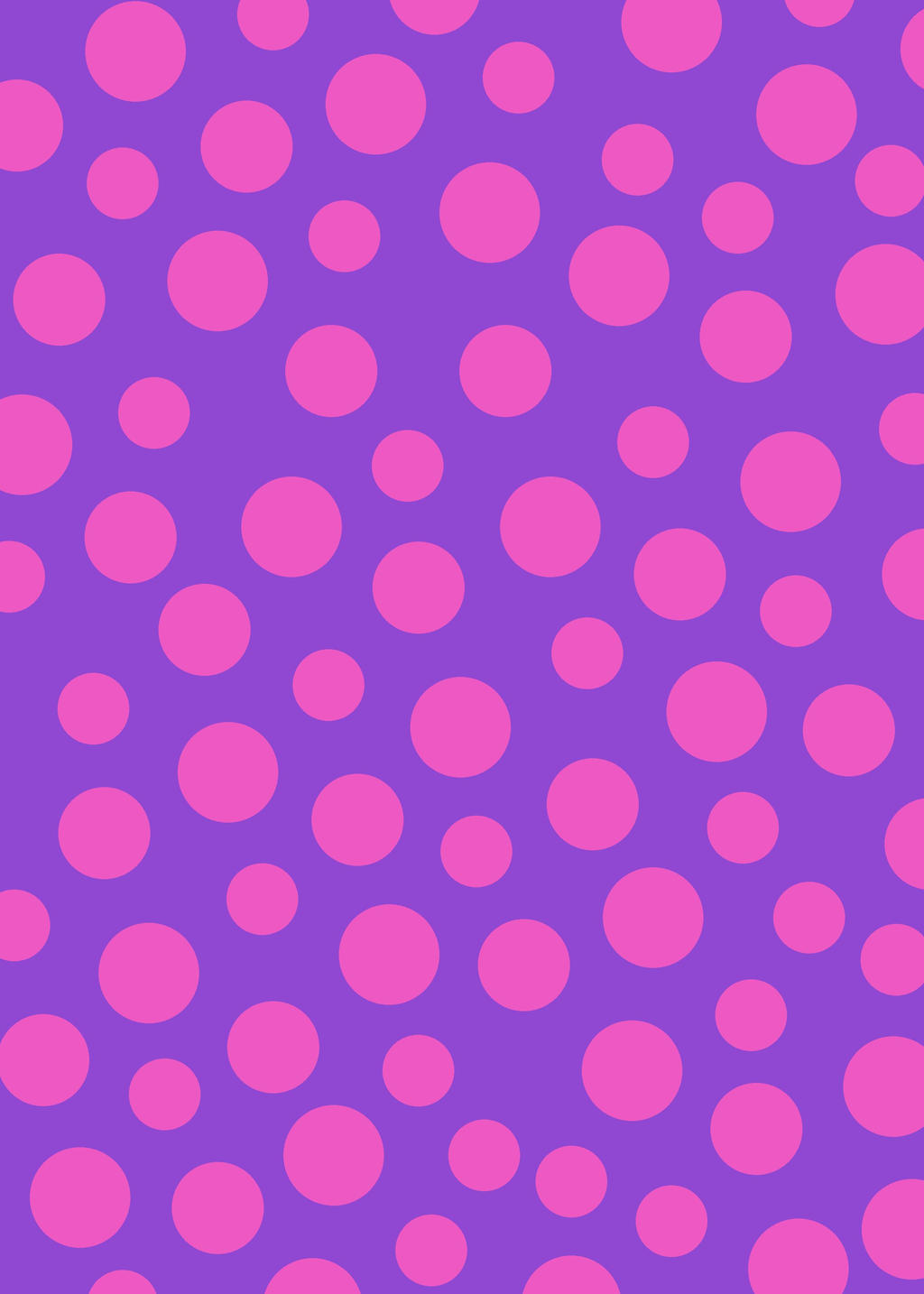 Polka dots are in crafthubs pink and purple polka dot wallpaper voltagebd Image collections