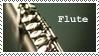 Stamp: Flute by samen-op-de-motor