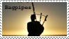 Stamp: Bagpipes by samen-op-de-motor