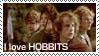 Stamp: Hobbits by samen-op-de-motor