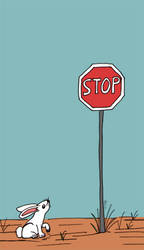 Stop Sign by goldenspines